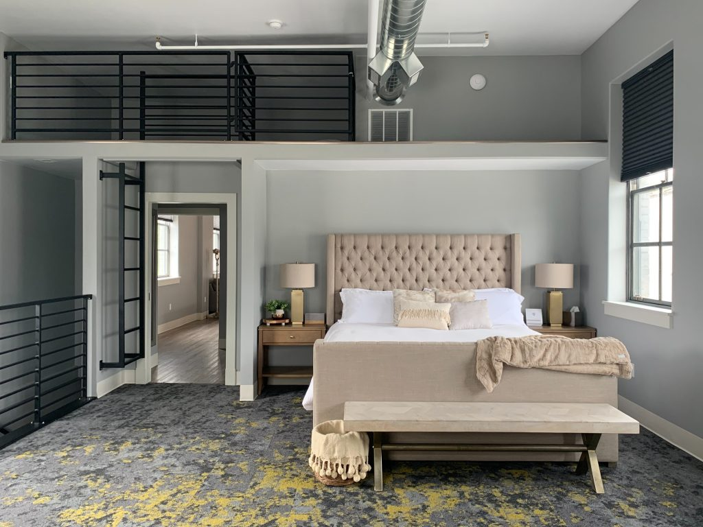 Industrial Interior Design; Bedroom Interior Design