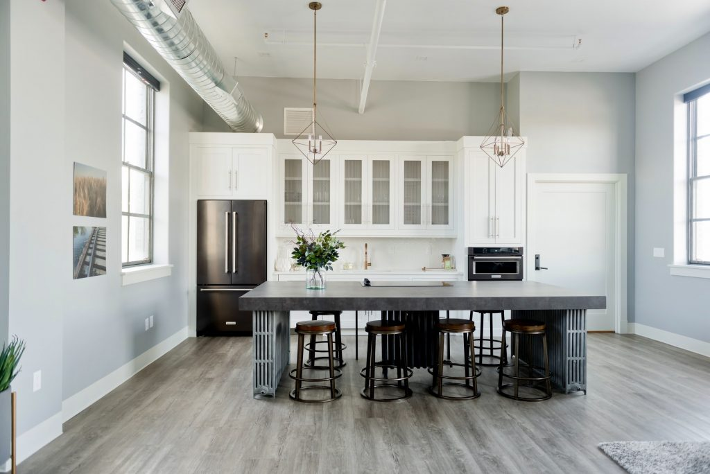 Kitchen Industrial Interior Design